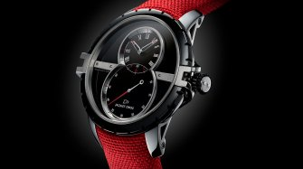 SW Steel-Ceramic: Jaquet Droz goes red