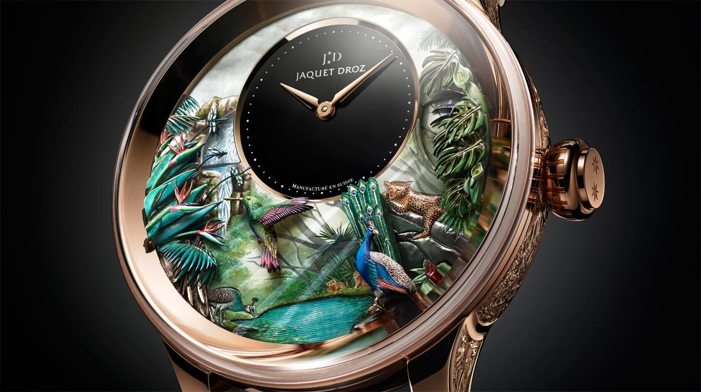 Jaquet Droz - Tropical Bird repeater