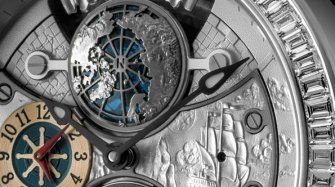 Polvs Arcticus, Double Tourbillon GMT Innovation and technology