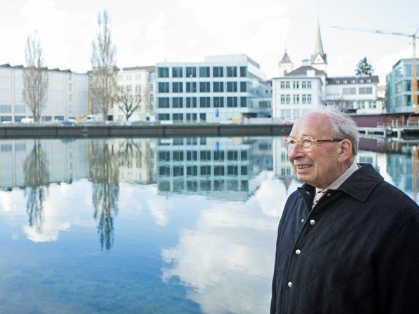 IWC Schaffhausen - Master watchmaker Kurt Klaus is celebrating his 80th birthday