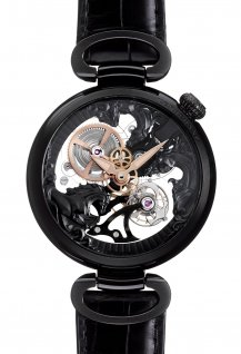 3-Horses Tourbillon Black Edition