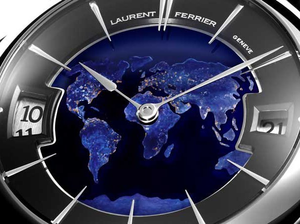 Laurent Ferrier - Galet Traveller Globe Night Blue