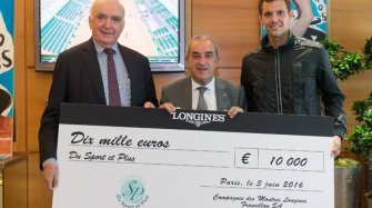 "10,000 euros for ""Du Sport et Plus"""