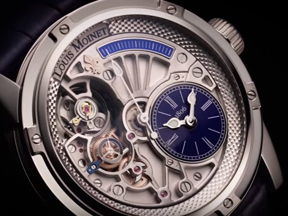 Louis Moinet - Video. 20-Second Tempograph