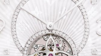 Tambour Monogram Tourbillon, white gold Trends and style