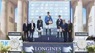 Berlin joined the Longines Global Champions Tour Sport