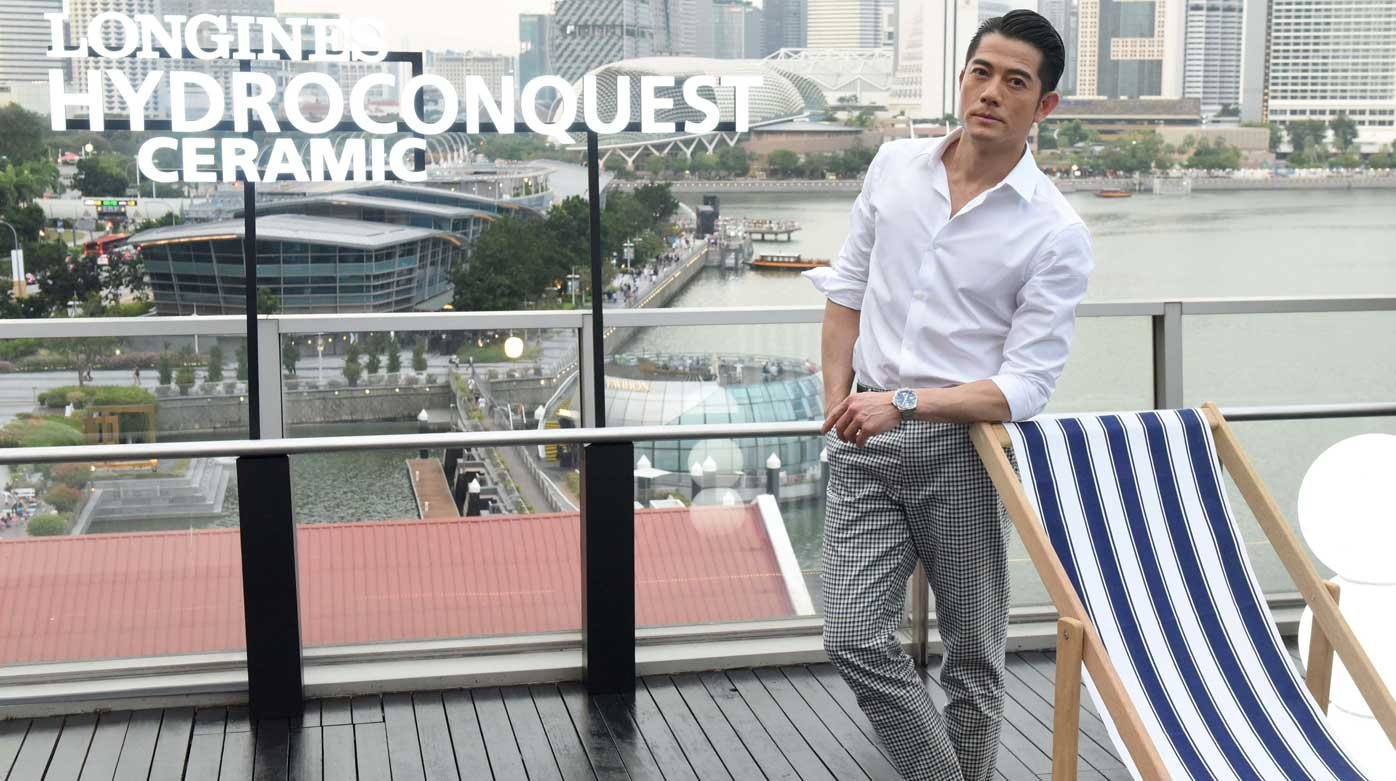 Longines - HydroConquest special event in Singapore