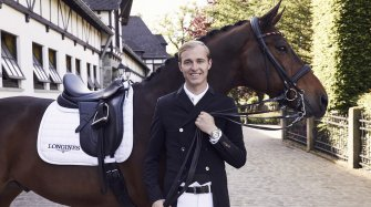 Sönke Rothenberger, new Longines Ambassador of Elegance Events