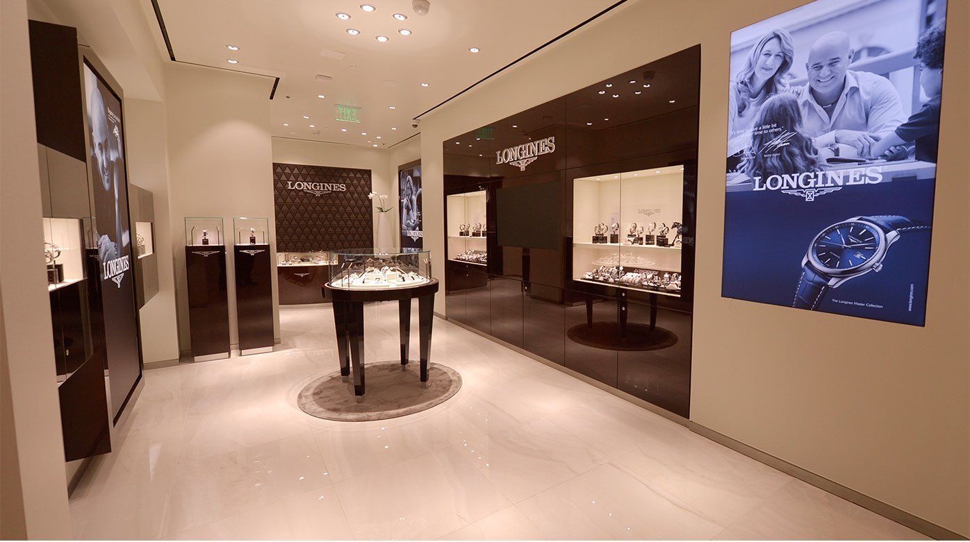Longines - A new sale corner in Las Vegas