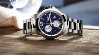 Conquest Chronograph by Mikaela Shiffrin