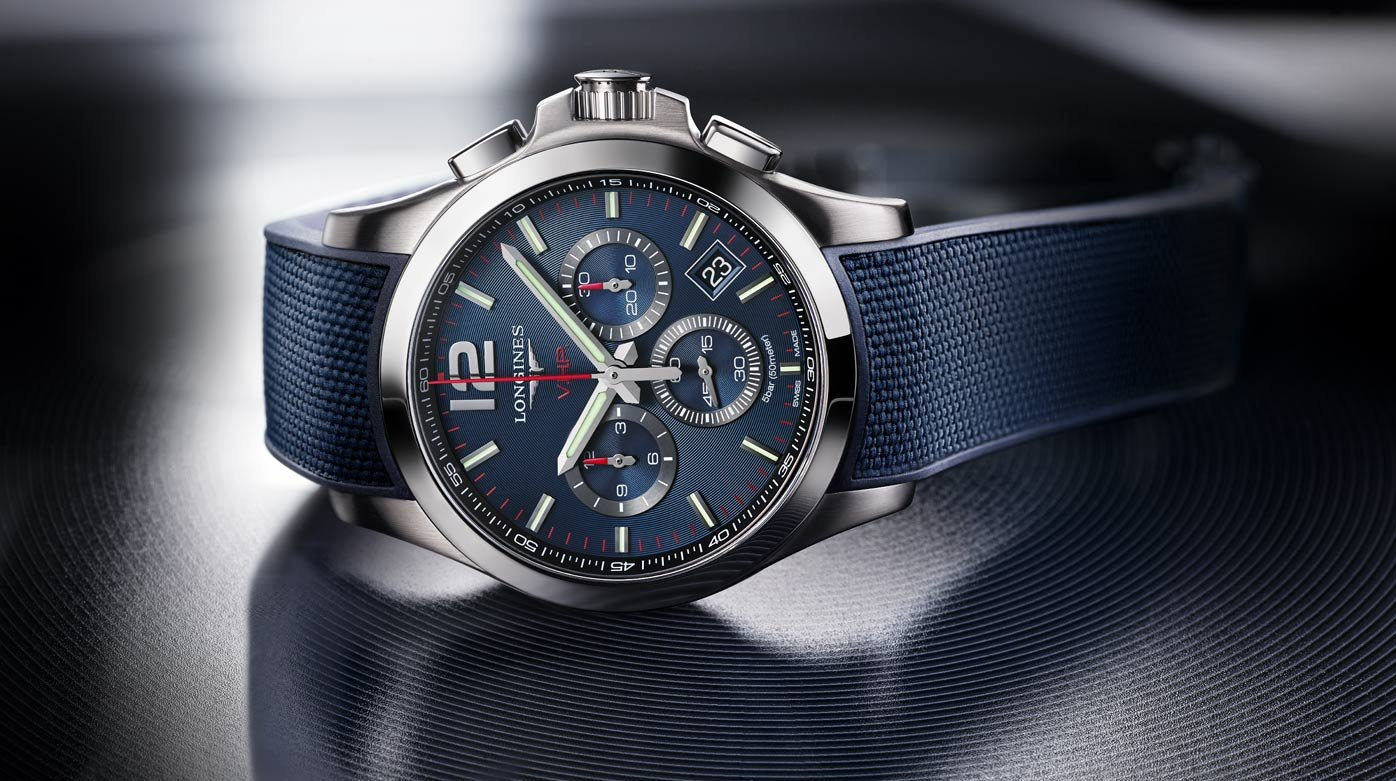 Longines - The Conquest V.H.P. offers new sporty models