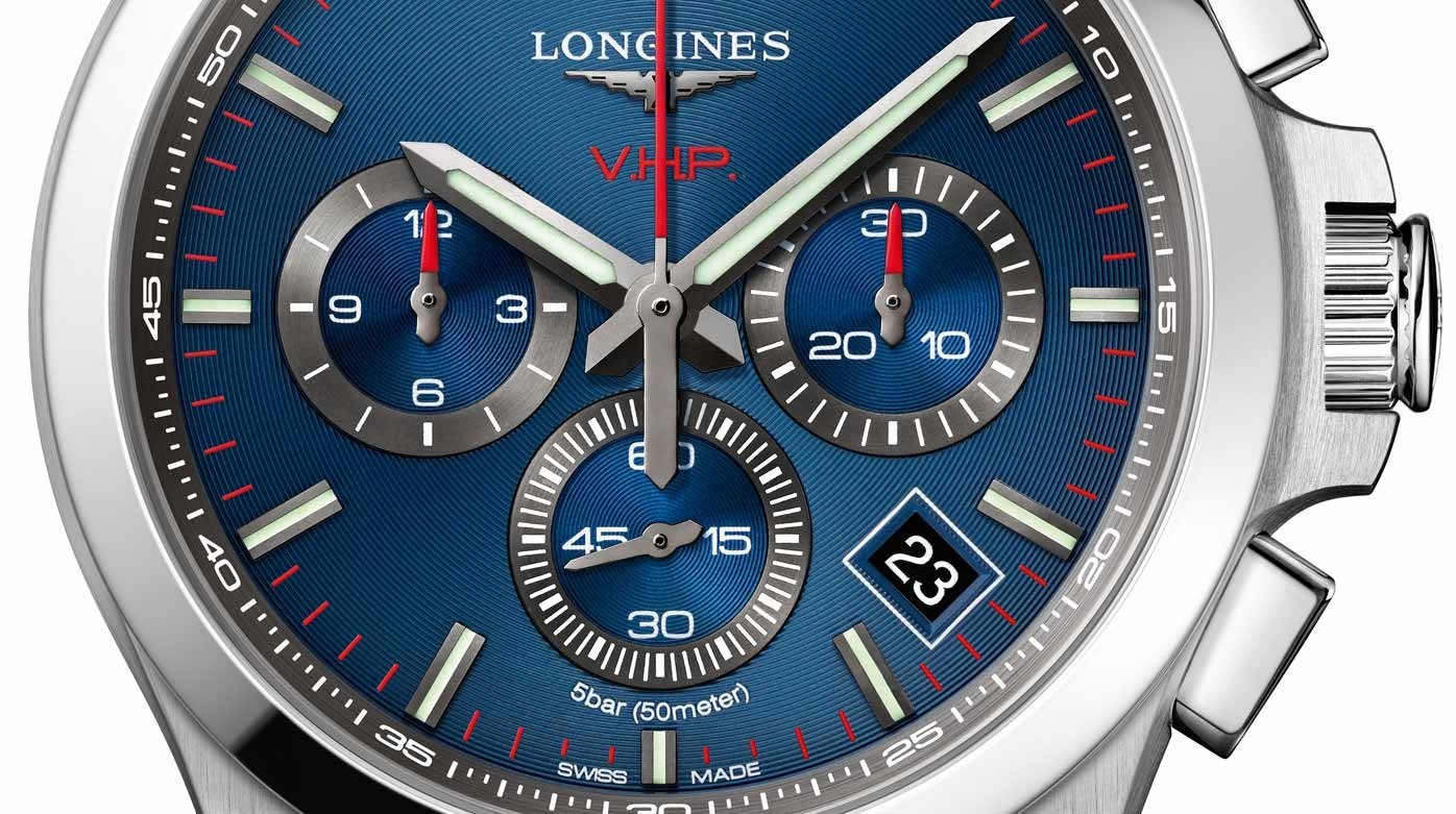 Longines - Conquest VHP -  le quartz a encore sa place