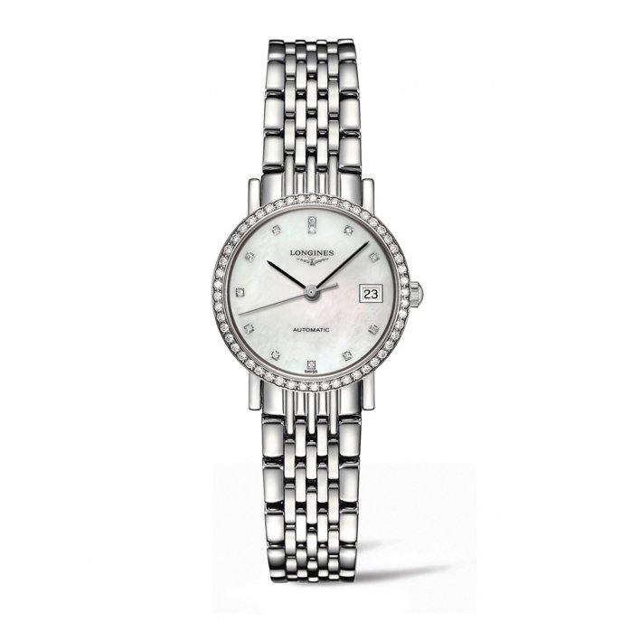 Longines Elegant Collection L4.309.0.87.6 Watch-face-view
