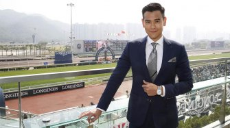Eddie Peng in Hong Kong with Longines