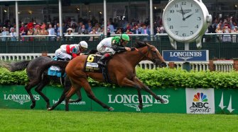 Pouring rain didn't stop Longines