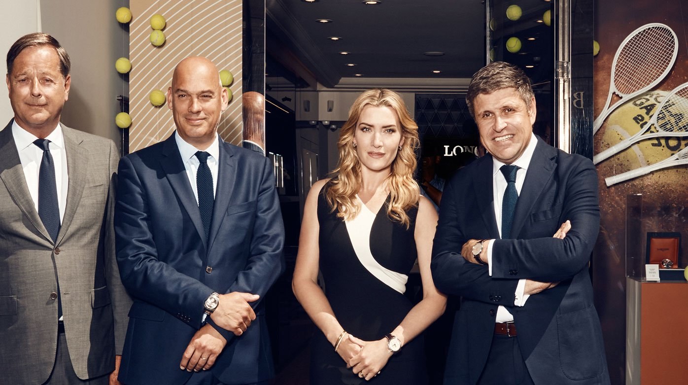Longines - The exclusive Flagship Heritage watch by Kate Winslet