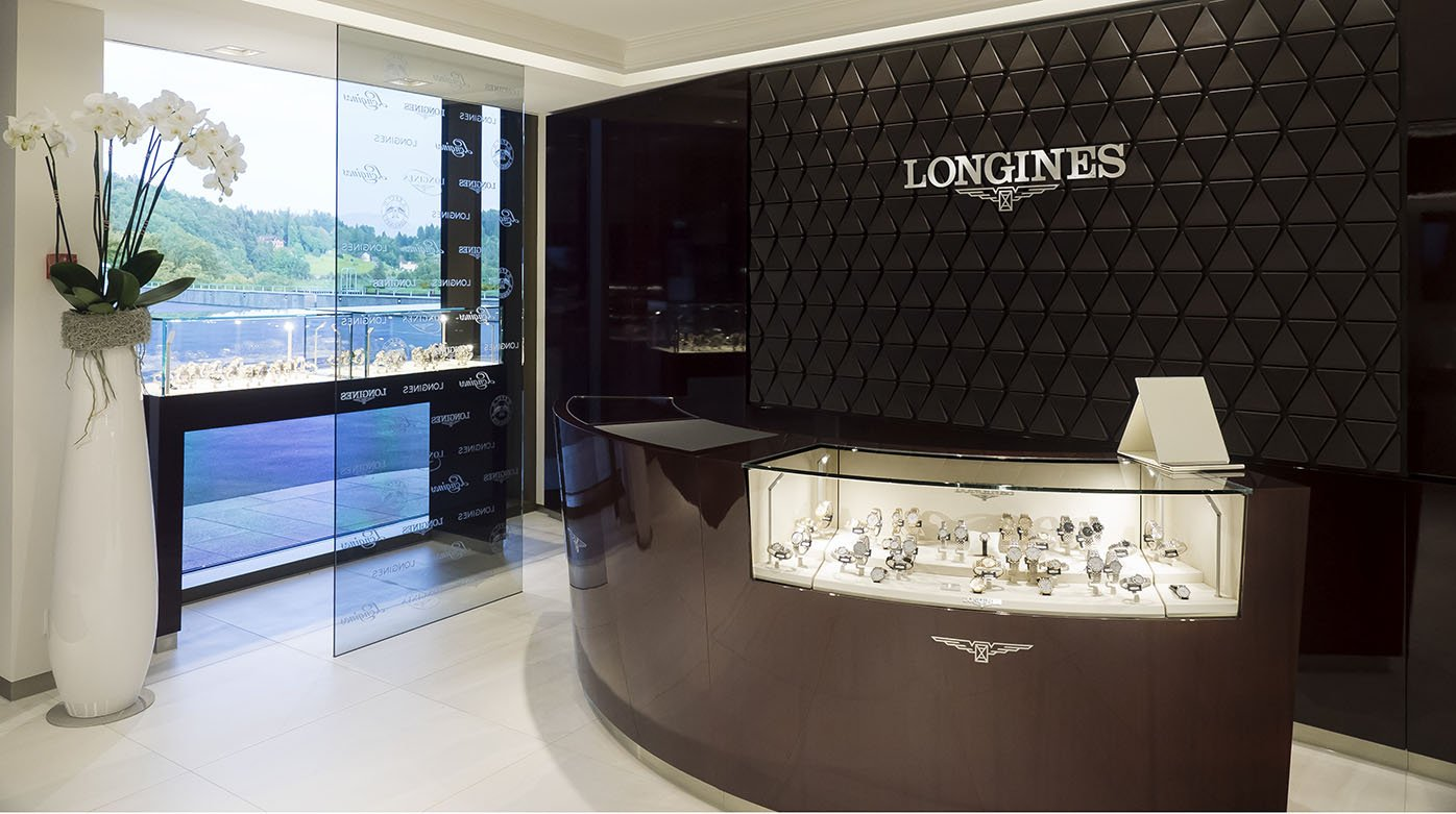 Longines - Walter von Känel opens the first Longines Corporate Store in Switzerland
