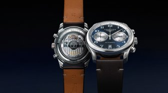 The Longines Master Collection Chronograph Bucherer Blue Editions Montres