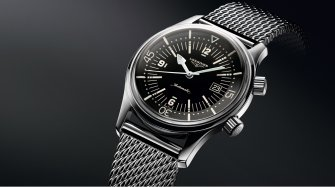 The Longines Legend Diver Watch Style & Tendance