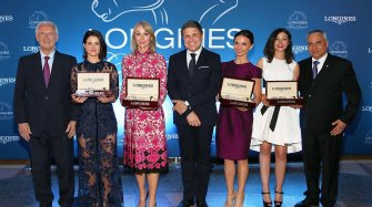 Longines Ladies Awards ceremony