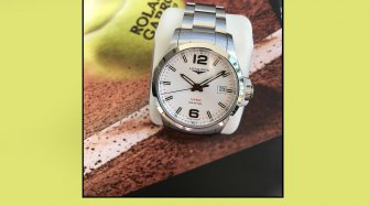 Longines at the French Open