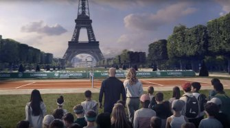 On the road to Roland-Garros with Steffi Graf, Andre Agassi and the Conquest V.H.P Sport