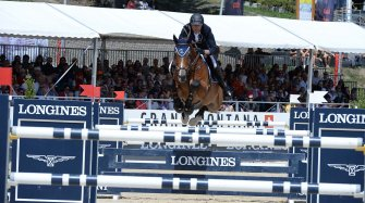 """Longines Grand Prix"" in Crans-Montana Sport"