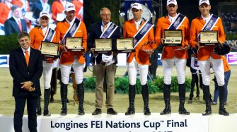 Longines FEI Nations Cup™ Jumping Final in Barcelona Sport
