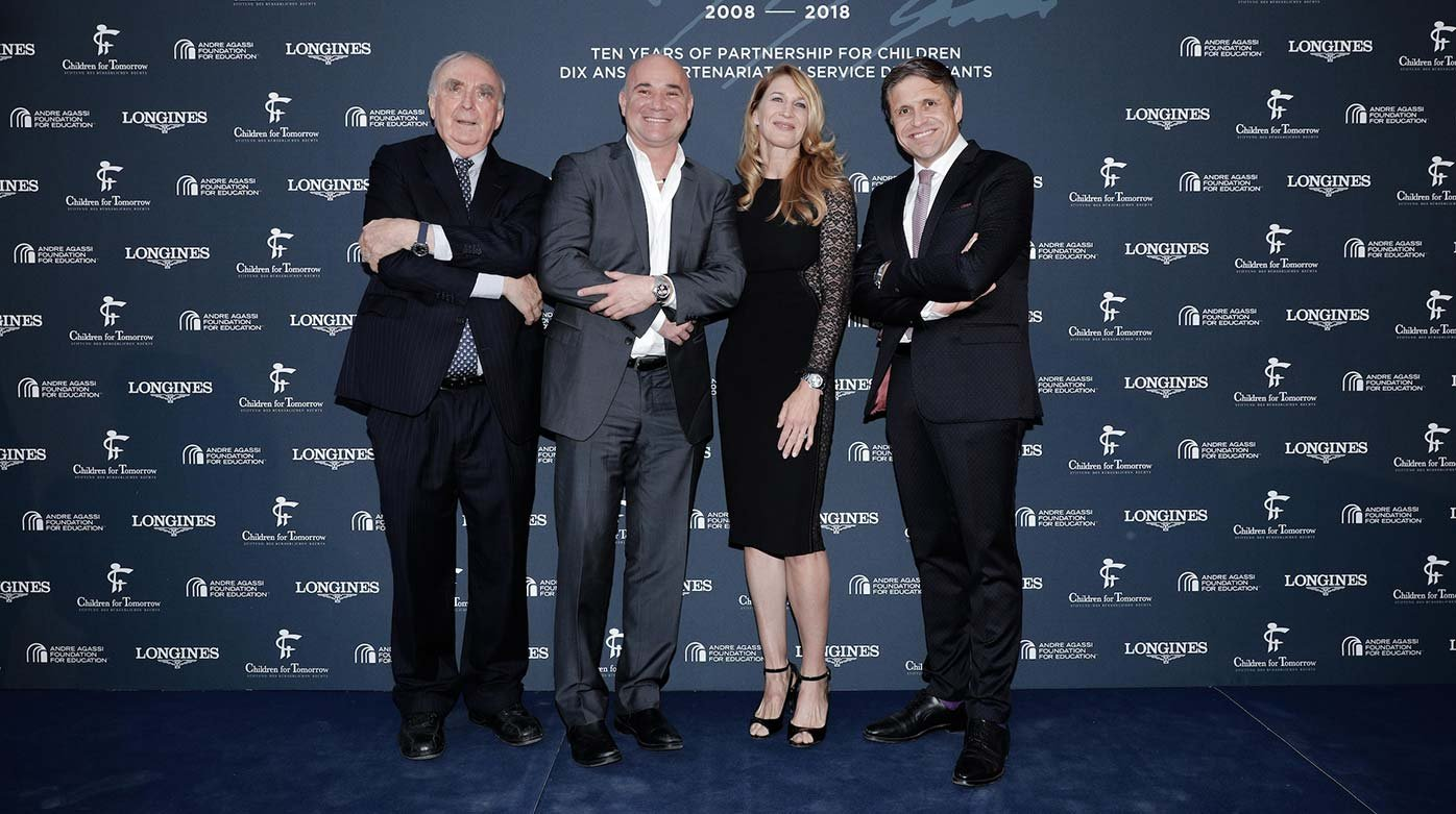Longines - Ten years of partnership with Stefanie Graf and Andre Agassi