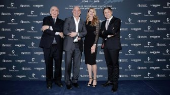 Ten years of partnership with Stefanie Graf and Andre Agassi