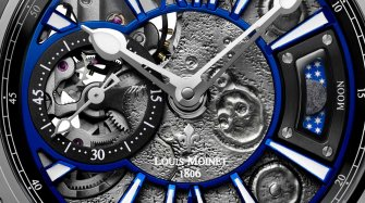 The planets align for Louis Moinet Trends and style