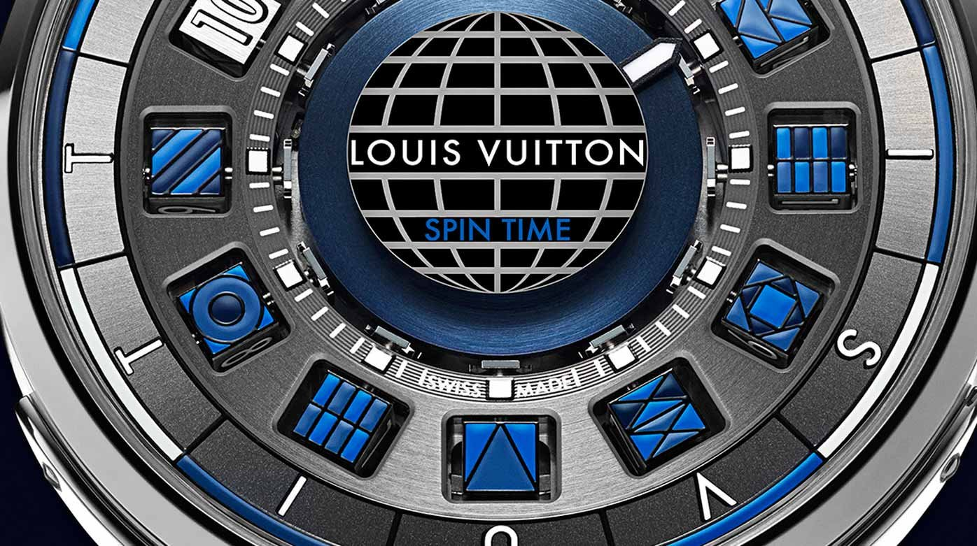Louis Vuitton - Escale Spin Time Blue