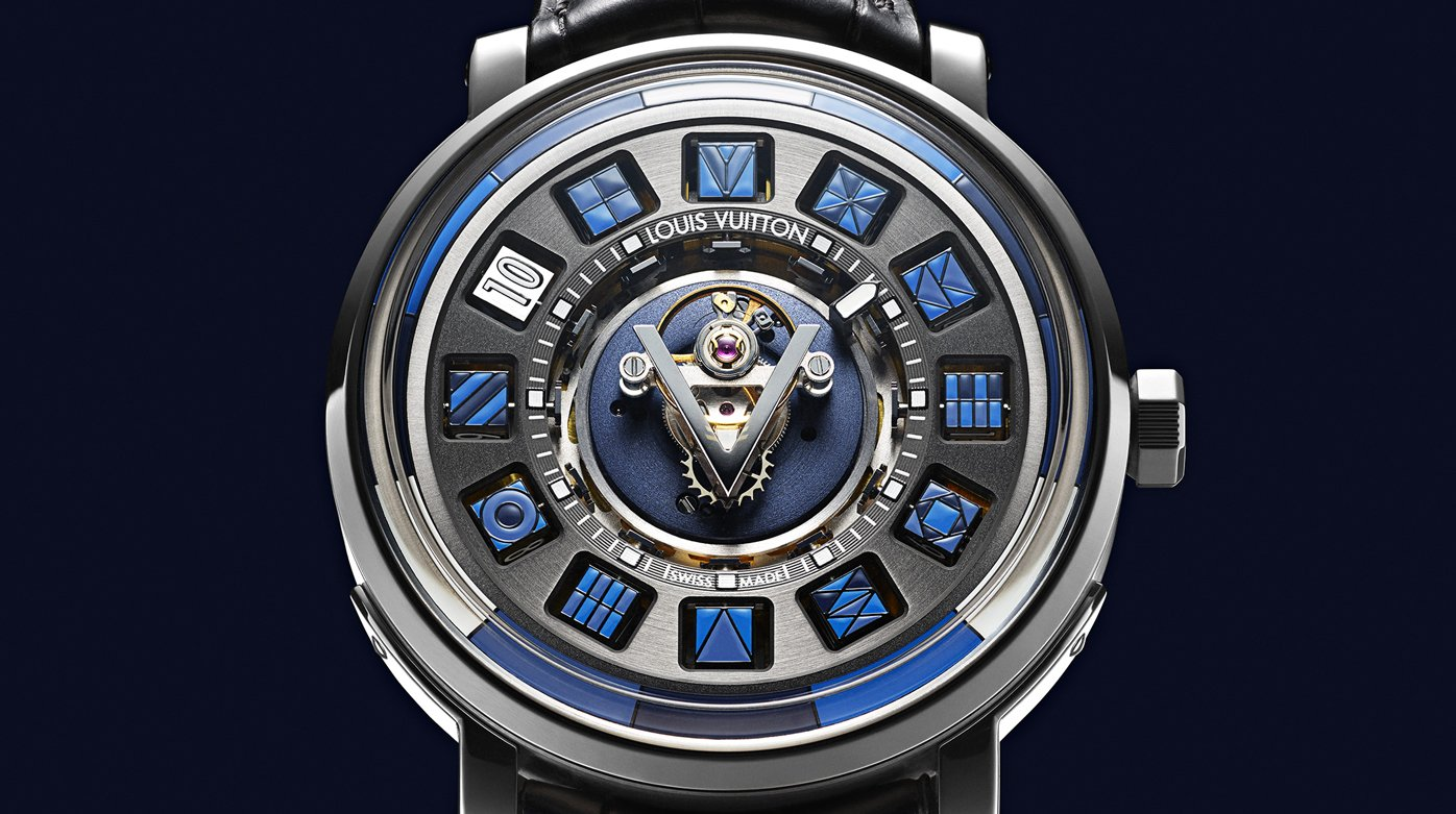 Louis Vuitton - Escale Spin Time Central Tourbillon