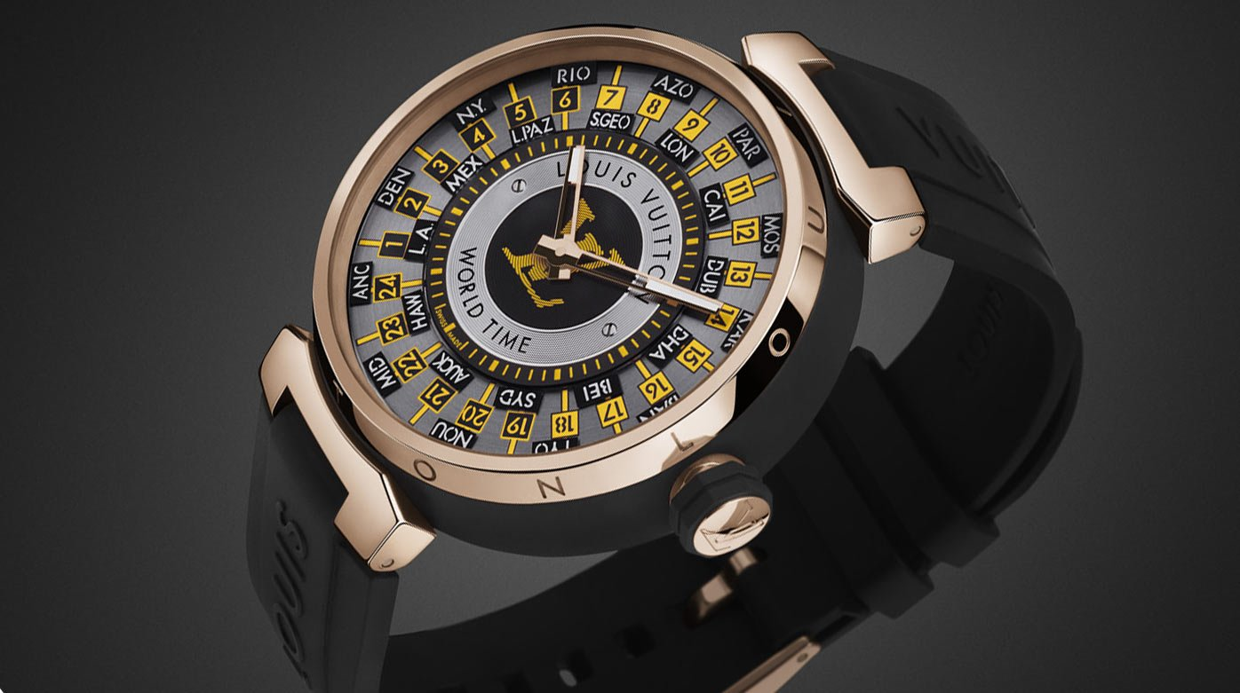 Louis Vuitton  - Tambour World Time Runway