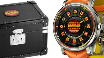 Escale Spin Time Black & Fire pour Only Watch Montres