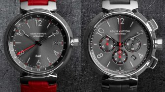 Tambour Essential Grey, GMT and chronograph