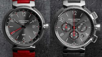 Tambour Essential Grey, GMT et chronographe