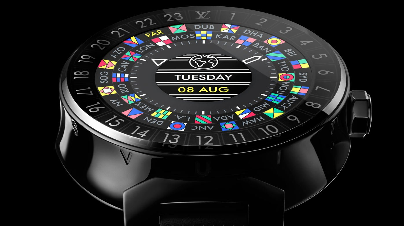 Louis Vuitton - Tambour Horizon : a luxury smart watch for the globetrotter