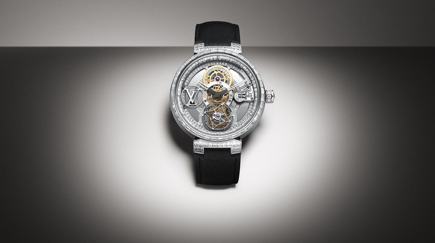 Louis Vuitton - Tambour Moon Tourbillon Volant