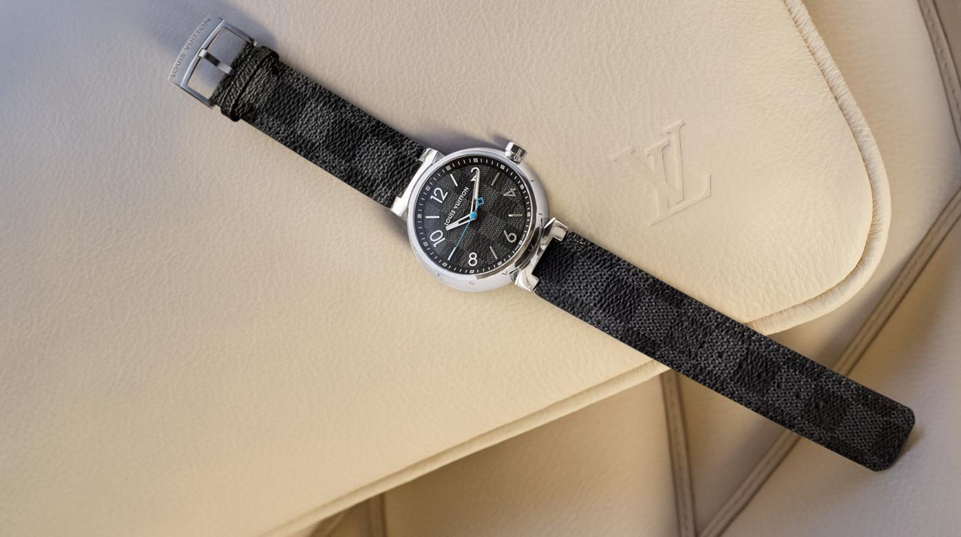 Louis Vuitton - Tambour Damier Graphite
