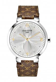 Tambour Slim Metallic Flower