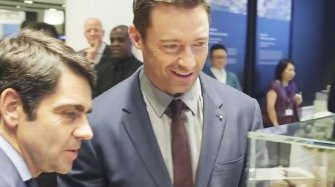 Video. Hugh Jackman at Watches&Wonders Exhibitions