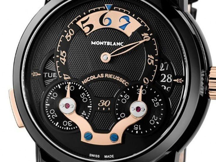 Montblanc - Nicolas Rieussec Rising Hours for Monaco Only Watch 2013