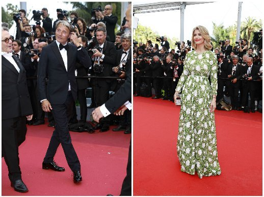 Cannes Film Festival 2016 - Montblanc at the 2016 Cannes Film Festival opening ceremony