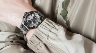 Aikon Quartz Chrono 44mm Camouflage Style & Tendance