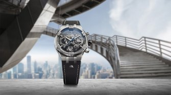 The graphic power of the Aikon Chronograph Skeleton Trends and style