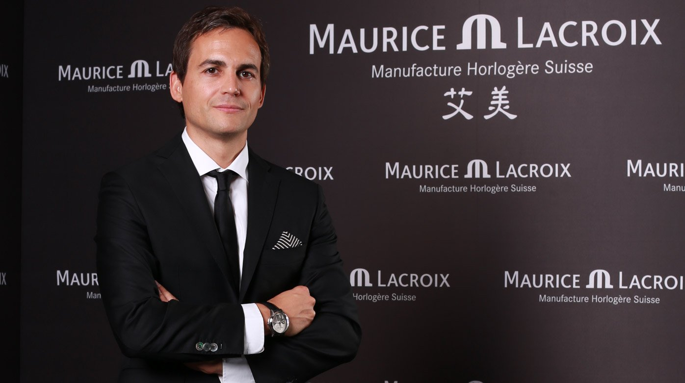 Maurice Lacroix - Profile of Stephane Waser, Managing Director