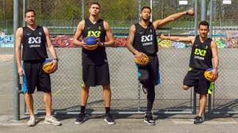 Team Lausanne 3X3, new friend of the brand People and interviews