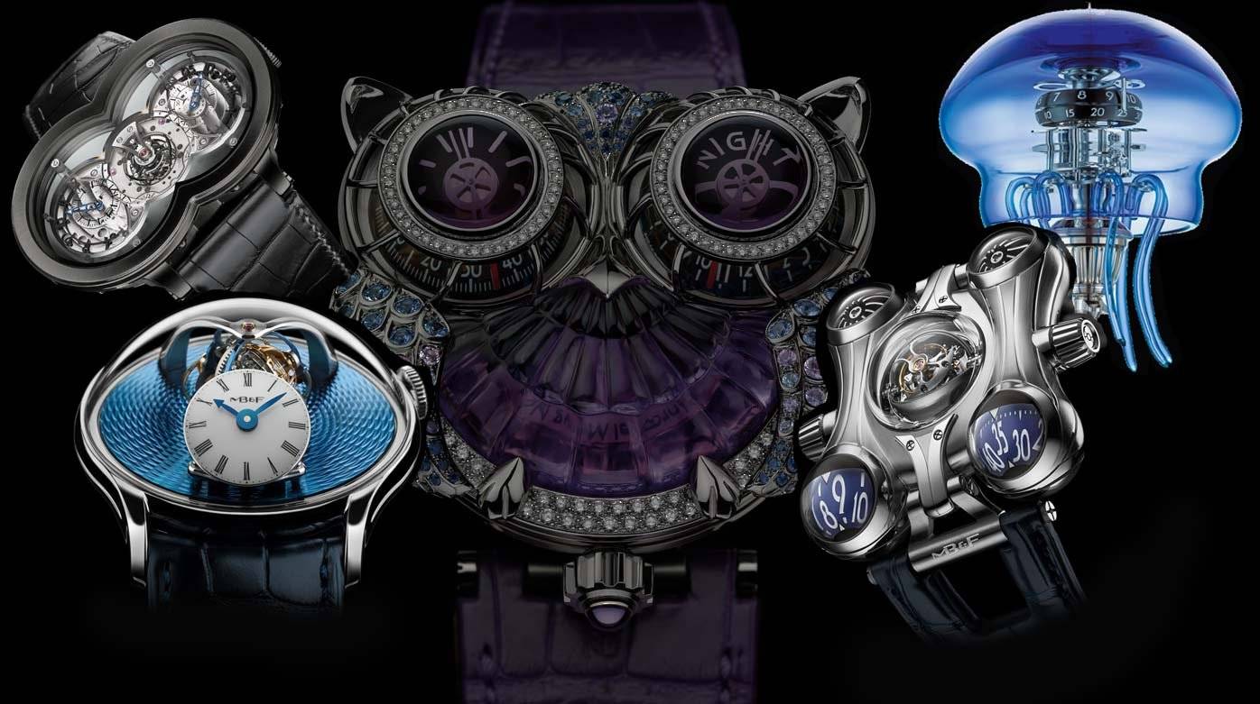 MB&F - 2010 – 2020 : the top 5 MB&F timepieces of the decade.