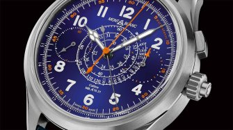 Montblanc 1858 Split Second Chronograph Limited Edition 100 Trends and style